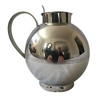 Art Deco Silverplate Pitcher by C.G.Hallberg AB Stockholm, 1933