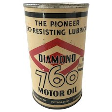 Vintage Diamond 760 Motor Oil Bank