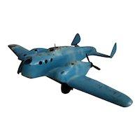 1930's Vintage Wyandotte Pressed Steel Airplane