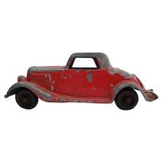 Vintage Hubley Die cast Metal Toy Ford Roadster Car