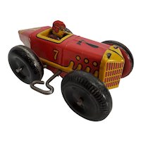 Vintage original Marx #Wind-up Tin Racer