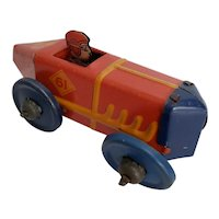 Vintage 1920's #61 Boattail Racer by Marx