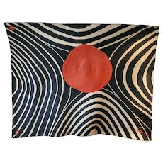 Limited Edition Alexander Calder Zebra Weaving
