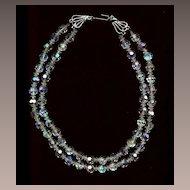 Bridal Choker Vintage Crystal Beads