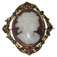 Beautiful Antique Shell Cameo