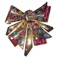 Wonderful Huge Fur Clip Bow Colorful