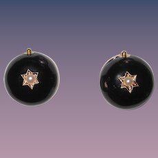 Rare Late 18th Century Earring Coach Covers Mourning