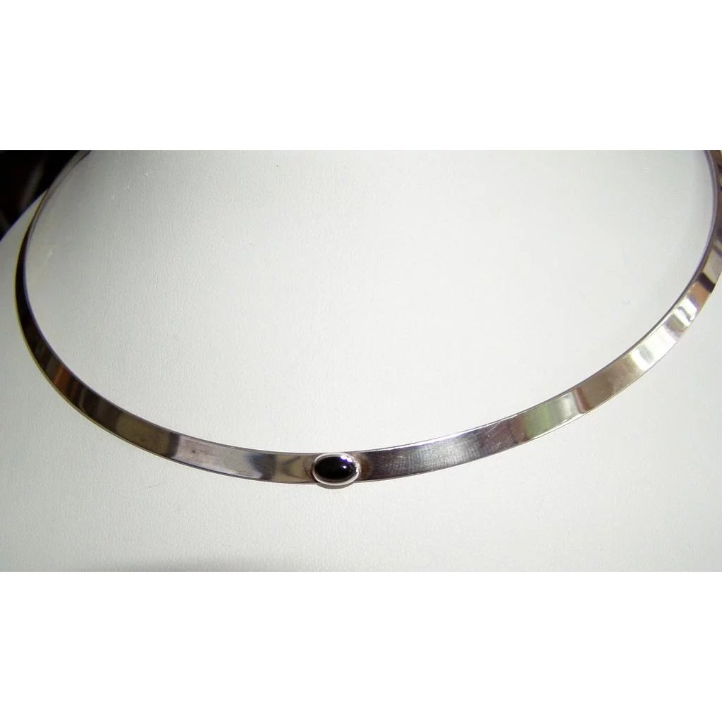 Ed Levin Sterling Silver Collar Necklace Alison Phalan