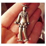 Wonderful Vintage Figural Pin of a Man