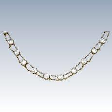 Georgian Paste Riviere Necklace