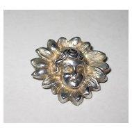 Art Nouveau Sterling Pin