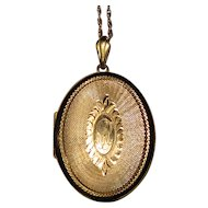 Vintage Locket Large Oval