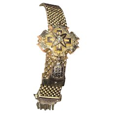 Victorian Mesh Slide Bracelet Fancy