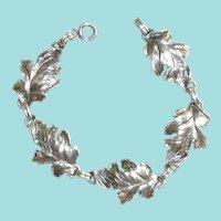 Danecraft Sterling Leaf Bracelet