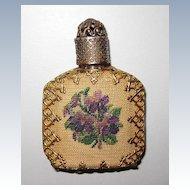 Vintage Perfume Pettipoint Decoration