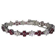 Ruby Diamonds Fancy Bracelet