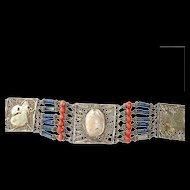 Genuine Egyptian Scarab Bracelet Egyptian Revival