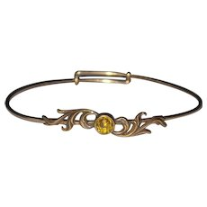 Victorian Expandable Bangle Bracelet