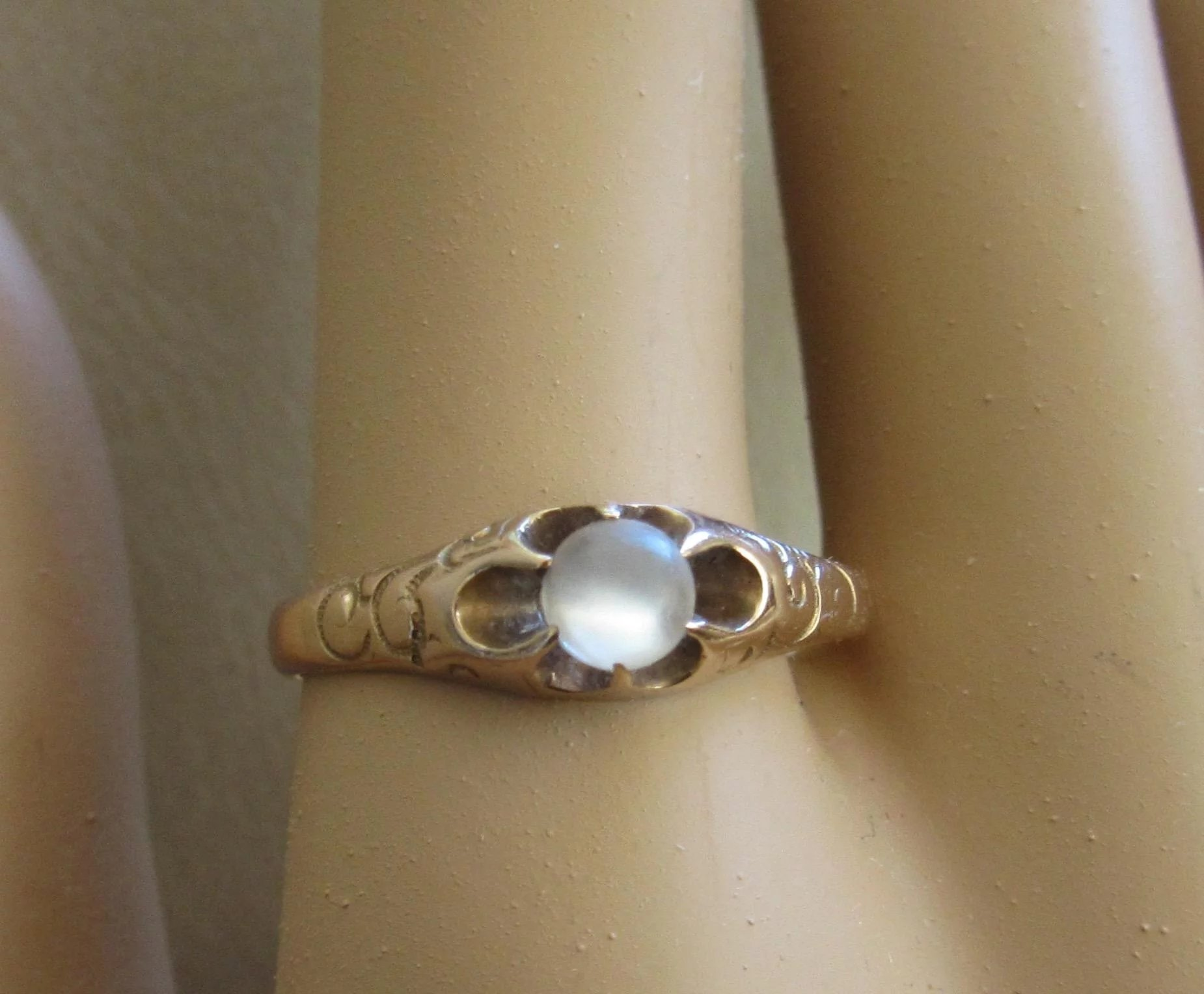 victorian moonstone ring rose gold beautiful alison