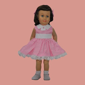 "Brunette bob soft face Chatty Cathy 20"" tall- the second issue"