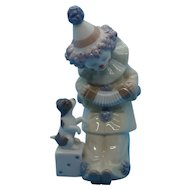 "Lladro - ""Pierrot with Concertina""  #5279"