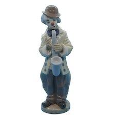 "LLadro - ""Sad Sax"" Clown with Saxophone  #5471"
