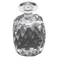 "Swarovski Crystal - Retired ""One Ton Bottle"" Paperweight"