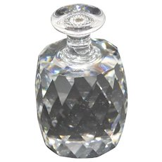 "Swarovski Crystal - Retired ""One Ton Bottle"" Paperweight"