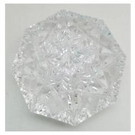 Waterford Diamond Shape Office Paperweight