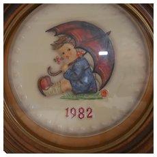"Hummel - ""1981 Annual Plate ~ Umbrella Girl Ref # 684"