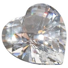 "Swarovski Crystal - ""Sparking Heart"" Small"