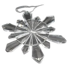 Reflections by the Paragon: Glacier Frost Crystal Ornament #51002
