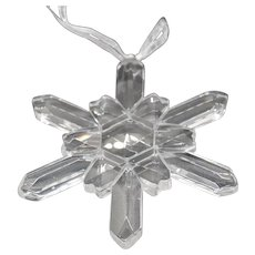 Reflections by the Paragon: Winter Ice Crystal Ornament #51001