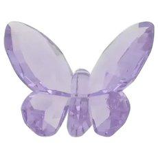 "Swarovski Crystal - ""Purple Butterfly"""