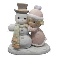 "Precious Moment - ""Snow Man Like My Man"" #587877"