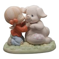 "Precious Moments - ""Hogs and Kisses"" #261106"