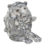 "Swarovski Crystal - 1995 Annual ""Inspiration Africa"" - Lion"