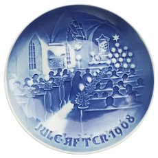 """B&G  """"Christmas in Church Jule After 1968"""" Collector Plate"""