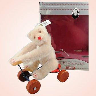 Steiff Record Teddy Bear Rose, 1991 to 92 ltd. edition replica of 1913 model, mib