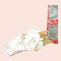 "Kathe Kruse Sandbaby, 20"", heavy midwife training doll, 1984, mib"