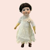 "Armand Marseille 1925 antique German doll, 13"" bisque head, ball jointed body"