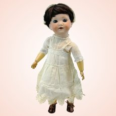 """Armand Marseille 1925 antique German doll, 13"""" bisque head, ball jointed body"""