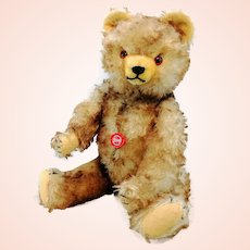 "Vintage Hermann Teddy Bear with ID, 1986 German made ltd. Edition, 20"""