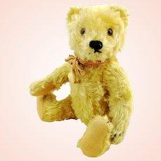 "Steiff Original Teddy Bear, 1965 vintage, 9"", blonde"