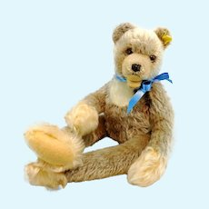 "Steiff teddy bear Zotty Zolac with IDs, 18"", dangling limbs, produced 1966 only"