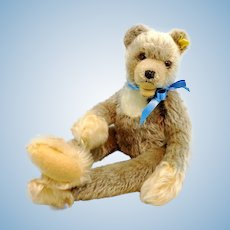 """Steiff teddy bear Zotty Zolac with IDs, 18"""", dangling limbs, produced 1966 only"""