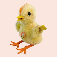 Steiff Chick with all IDs, vintage 1959 to 64 only, 5 inches