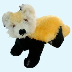 """Steiff Red Indian Panda 4"""", 1963 to 64 only, swivel head"""