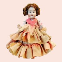 Antique bisque doll around 1900 made in Germany 4 1-2""