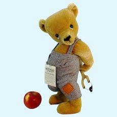 "Merrythought teddy bear ""Master Mischief"" English vintage 1992 ltd. Edition, 16"""